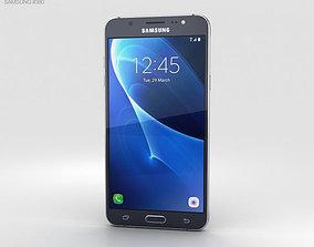 3D model Samsung Galaxy J7 2016 Black