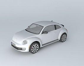 3D Volkswagen Beetle Turbo A5 2012