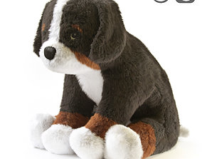 3D HOPPIG Soft toy dog