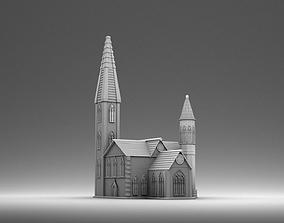 3D print model Catholic church