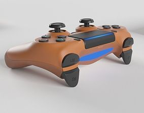 Sony PlayStation 4 DualShock Controller 3D model 2