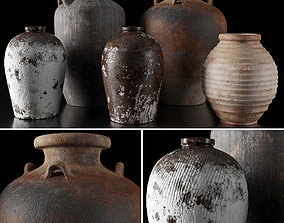 RH Collection of vases 3D model