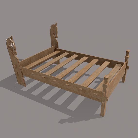 Viking Bed Frame