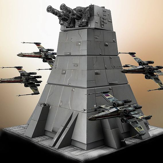 Star Wars Turbo Laser Tower