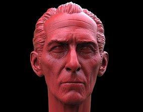 sculptures 3D print model Grand Moff Tarkin Head