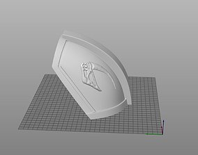 The Mandalorian Beskar Paulrons - Shoulder Armor - EZ 3D