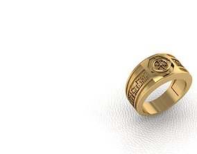 3D printable model Ring Charisma