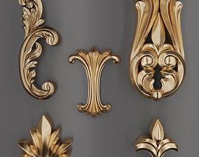 architectural Trim Ornament 58 3D