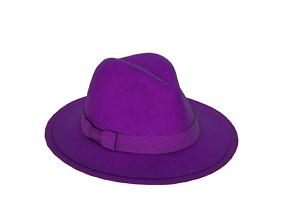 Fedora Hat 3D model realtime