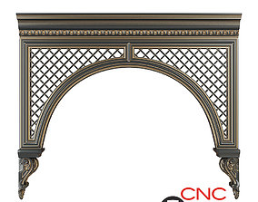 Architectural arch 3D
