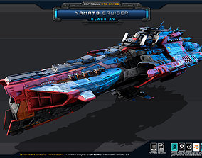NEXTGEN - Yamato Cruiser - Class XV 3D model