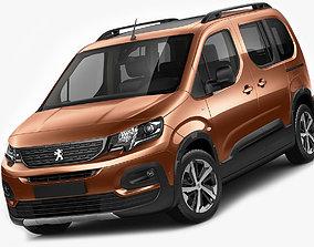 3D model Peugeot Rifter 2019