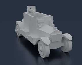 Minerva Armored Car 3D print model