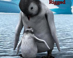 3D Emperor Penguin Chick 2