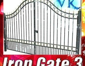 3D model Iron Gate 03
