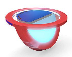Virtual TV Studio News Desk 10 3D