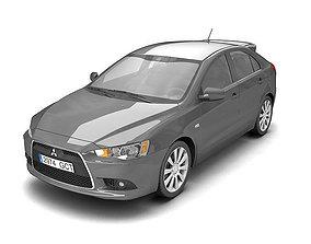 Mitsubishi Lancer Sportback 2009 3D model