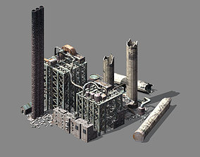 Future World - Ruins 05 3D