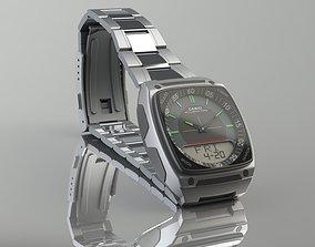 CASIO Wrist Watch 3D