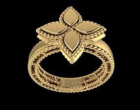 fashion ring wedding jewelry 3D print model