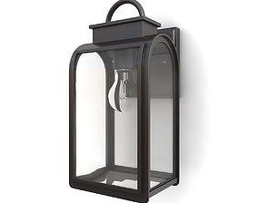 3D model Outdoor wall lantern 20