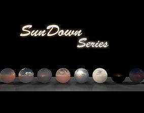 HDRi Sundown Series 3D