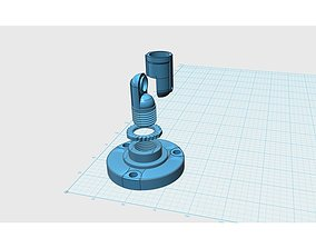 Printable Security Camera Wall Stand