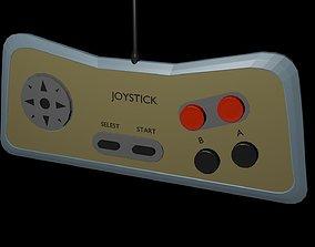Low poly joystick 5 3D model