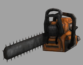 3D model Chainsaw Low Poly