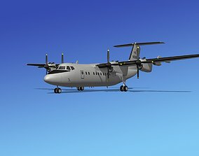 3D model Dehavilland DHC-7 US Army