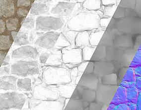 Medievil Stones Tiled 3D model