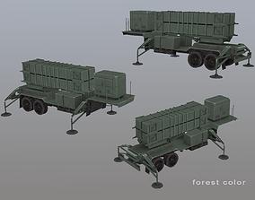 MIM-104 Patriot M903 Launcher Trailer 3D model