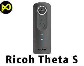 3D model Ricoh Theta S 360 Camera
