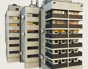 3D asset Building Skyscraper City Town 5