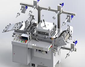 3D model WA300G-Die Cutting machine