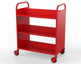 Generic Cart Library Transport 02 3D