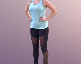 3D asset Rocio 10572 - Standing Sport Girl