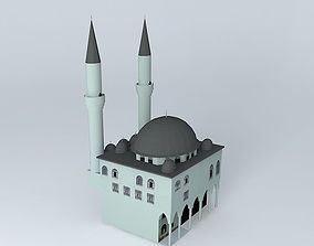 3D model The mosque