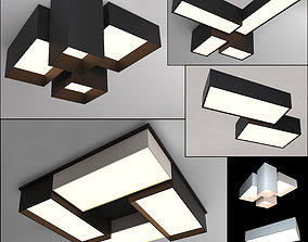 Ceiling lamps set 008 3D