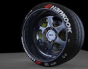 3D model Rotiform MHG low offset wheel