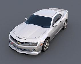 3D asset Chevrolet Camaro GS muscle-car
