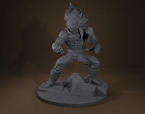 Vegeta ssj4 3D print model