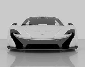 3D model 2014 MCLaren P1