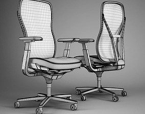 3D model conference-room-chair Office chair