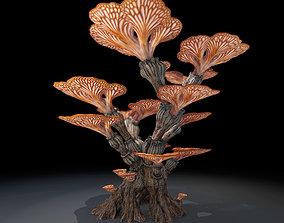 3D asset Alien Plant Mushroom Type 1