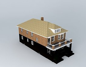 3D Two Family Flat