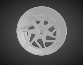 3D print model Forgiato Finestro rims for Hot Wheels