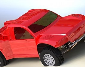 3D model RC Car rendering