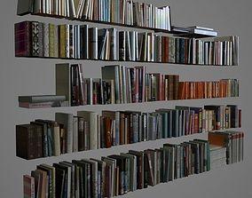 3D 400 realistic books