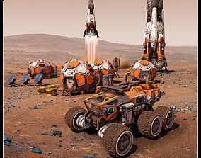 MARS Missions Pack 3D